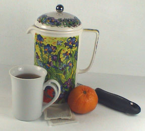 Chia Orange Hot Tea