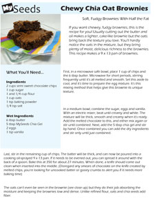 Chia Oat Brownie Page Small